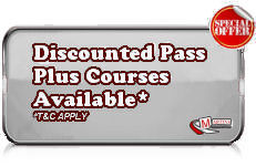 Discounted Pass Plus Courses Available